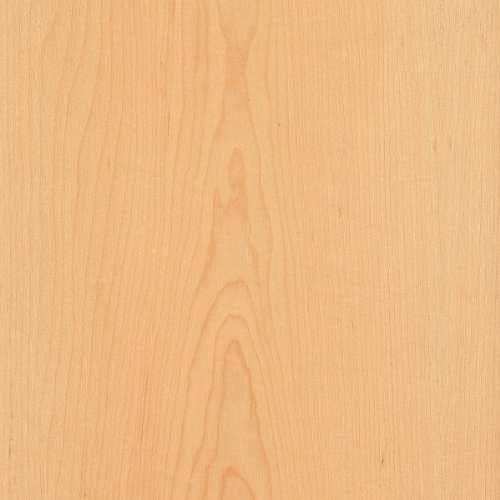 Maple Wood Veneer Plain Sliced 2 X8 Psa 9505 Sheet With